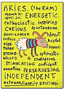 image is loading aries zodiac sign positive traits fridge magnet ep