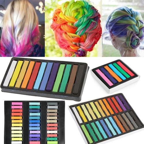 Best Seller Hair Color DIY Dye Temporary Chalk Pastels Salon Kits Rainbow Colors