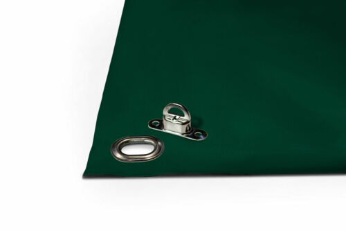 Truck Tarpaulin with Oval Grommets Eyelets PVC Cover 600g//M ² Roof Terrace