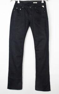 REPLAY Women Ioko Straight Leg Stretch Jeans Size W25 L32