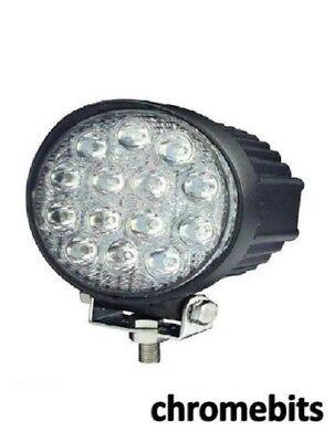 8X 18 W 6 LED Offroad Delgado haz puntual Barra IP67 Camión Jeep Tractor Lámparas de luz de trabajo