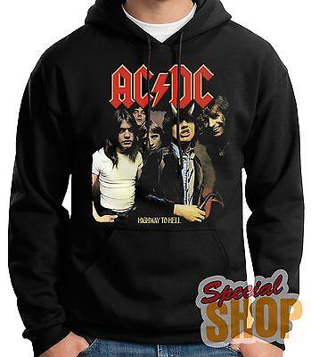 "SUDADERA CON CAPUCHA""ACDC-AC/DC HIGWAY TO HELL HARD ROCK-METAL""HOODIE,24/72 h"