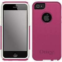 Otterbox Pink & White Commuter Series Case For Iphone 5&5s Free S/h