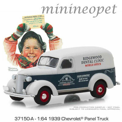 Chevrolet Panel Truck  EXPRESS  Greenlight  Norman Rockwell  1:64  OVP  NEU