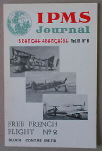 IPMS-JOURNAL-BRANCHE-FRANCAISE-VOL-III-N-6-FREE-FRENCH-FLIGHT