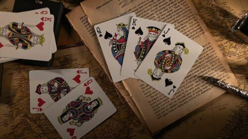 Time Marked Playing Cards