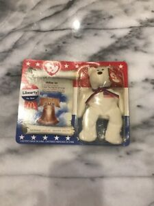 TY-LIBEARTY-THE-BEAR-Toy-McDonalds-HAPPY-MEAL-TOY-Unopened-New-Rare