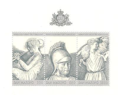 Gute WäRmeerhaltung San Marino Block 8 Mi.1233-35 Postfr Briefmarken