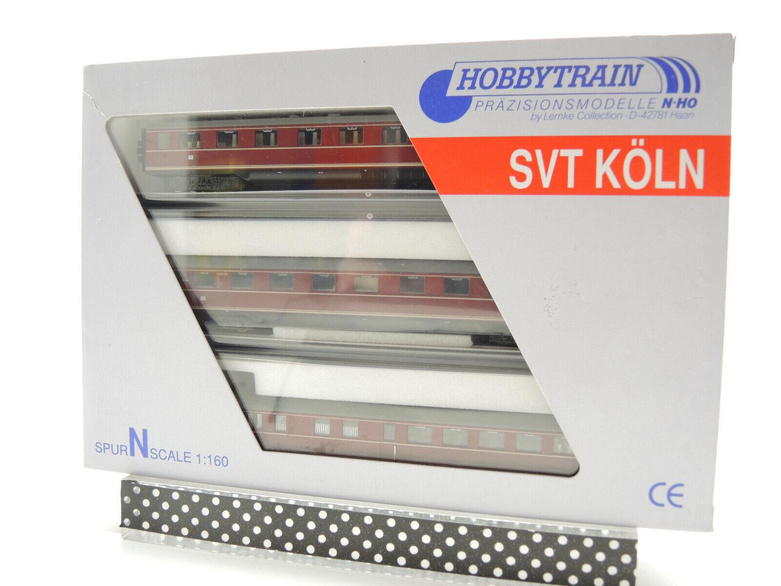 Hobby Train H11102  Triebwagen, SVT Köln VT06 der DB Ep.III, 3-teilig, TOP   OVP    Einzigartig