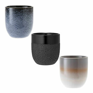 Ladelle Tumbler Cafe Series Desert Sand Coffee//Tea Stoneware Cup
