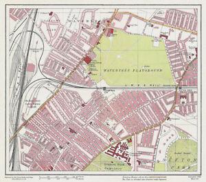 Wavertree Liverpool 1928 Series Sheet 5 Large Map Reprint eBay