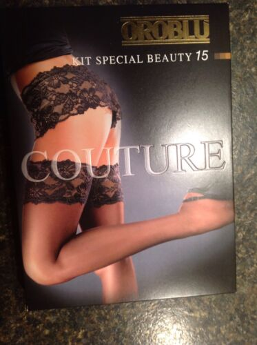 Thigh highs m Cosmetico Sz ii Special Panty Den 15 Kit Oroblu Beauty Couture qI4Ztt