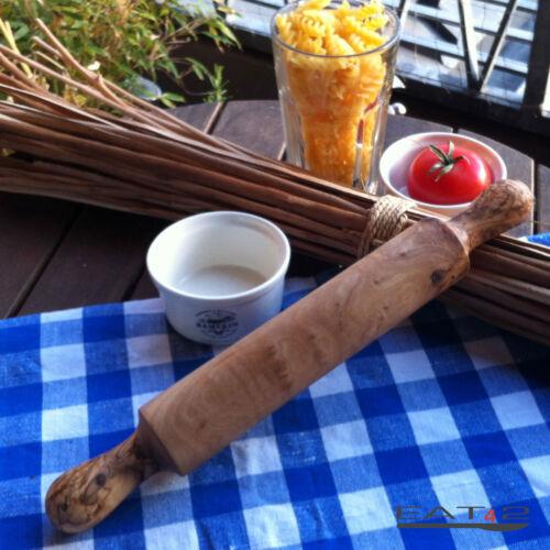Nudelholz Teigrolle Teigroller Roller Ausroller Nudelwalger aus Olivenholz Holz