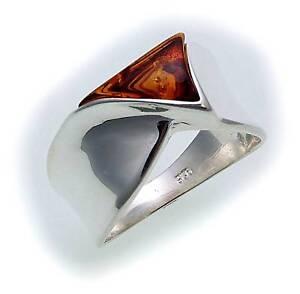 Damen-Ring-echt-Bernstein-in-Silber-925-Bernsteinring-Sterlingsilber-Qualitaet