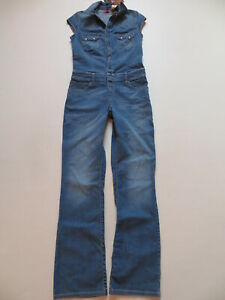 Levi-039-s-Overall-Jeans-Hose-Gr-M-W-30-L-32-NEU-Stretch-Denim-Jumpsuit-RAR