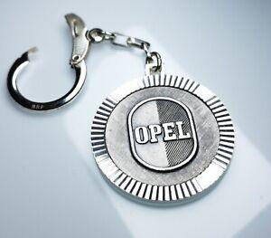 Schlüsselanhänger OPEL Logo Metall Anhänger 1960 orig. Diamantschliff Lüfterrad