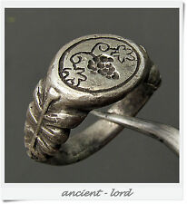 **DIONIS-GOD OF WINE** Ancient Roman SILVER  ring!!!