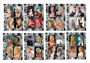 BRIGITTE-BARDOT-movie-star-8-SOUVENIR-SHEETS-MNH-UNPERFORATED