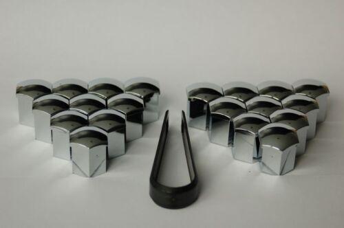 BIMECC bulloni ruota-tappi copertura chiave ampia 17 CROMO