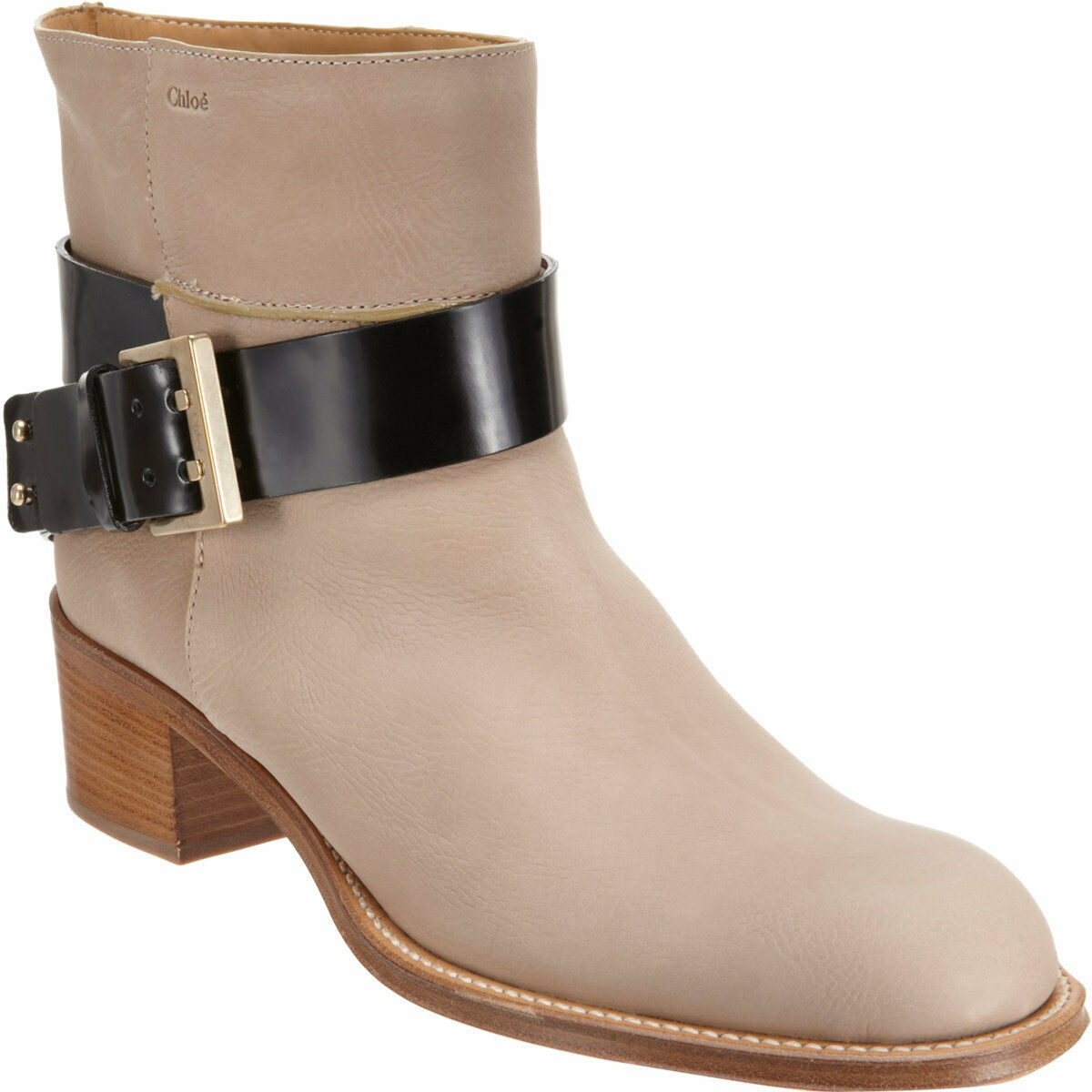 1150 Chloe Buckle Strap Ankle Ankle Ankle Riding Stiefel Motorcycle Biker Stiefelie 6.5-36.5 9027ca