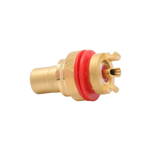 CMC 805-2.5F-G Gold Brass Female RCA Jack Connector HIFI Audio Terminal Set of 4