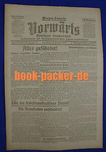 IngéNieux En Avant (19. Juin 1920): Tout En Danger! Liste Du Parti Socialiste-ischen Partei Fr-fr Afficher Le Titre D'origine Ture 100% Garantie