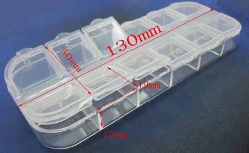 3PCS Button Jewelry Screw SMT SMD ICs Components Parts Kits box storage boxs