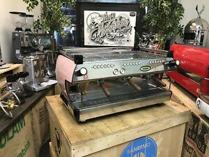LA-MARZOCCO-GB5-3-GROUP-PINK-BARISTA-ESPRESSO-COFFEE-MACHINE-BARISTA-CAFE-LATTE