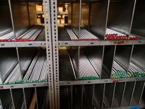 Barra de rosca galv galvanizado 4.8 varillas de rosca din 975 976 1000 mm 1m metros