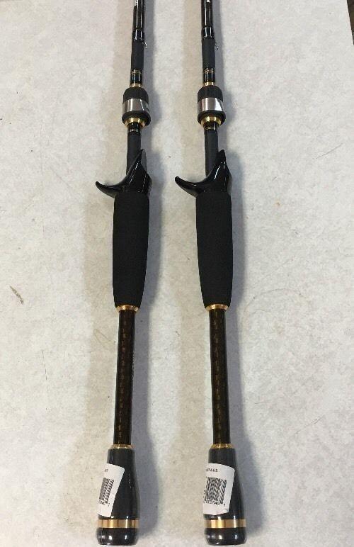 (2) Daiwa Fishing AIRD X Casting Rods 7' Medium-Heavy One-Piece Brand New