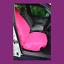 thumbnail 1 - Front Single Car Van Pink Waterproof LARGE Universal Airbag Seat Covers