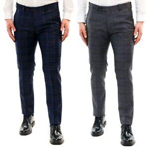 Pantaloni-Uomo-Chino-Cotone-Elegante-Estivi-Abito-Estivo-Tasca-America