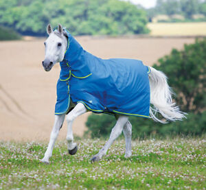 Shires Tempest 100g Combo Fixed Neck Summer Turnout Rug