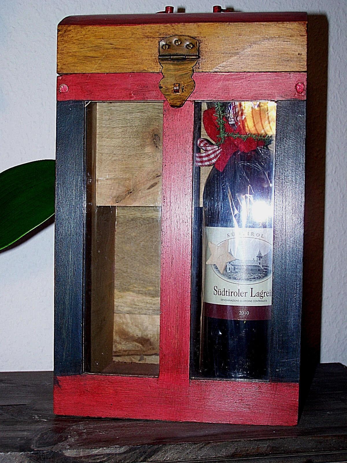 Taschenbuch   Flaschen Flaschen Flaschen - Aufbewahrungsbox   Holzbox für Flaschen   Handarbeit   | Verrückte Preis  c6c929