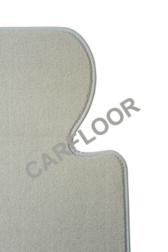 Para mercedes clase c s205 a partir de 03.14 tapices gamuza Deluxe gris claro nubukband