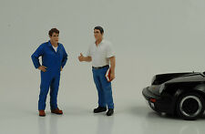 Mechaniker Service Chef Set / 2 Figuren  Figur 1:18 American Diorama no car