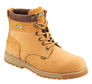 1aa5ce2d39b Details about JCB MENS S3 LEATHER SAFETY WATERPROOF WORK DESERT BOOTS STEEL  TOE CAP SIZE 6-13