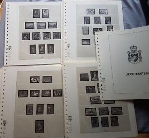 Lindner Liechtenstein Formulaire 178 178 A 1960-1982-afficher Le Titre D'origine