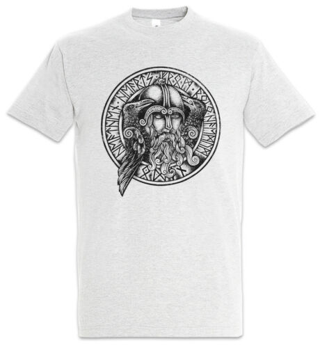 ODHIN II T-SHIRT Odín Hugin und Munin Ravens Odin Thor Loki Rune Walhalla
