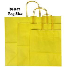 Papier-jaune-sacs-cadeau-boutique-shop-sac-fete-choisir-taille-small-medium-large