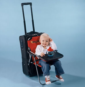 ... Ride-on-Carry-on-Infant-Child-Folding-Seat-  sc 1 st  eBay & Ride on Carry on Infant/Child Folding Seat Travel Chair Table ...