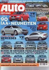 AUTO ZEITUNG 19/2005 RUF Porsche Rt 12/IAA Neuheiten/Mercedes S 350/VW EOS/05