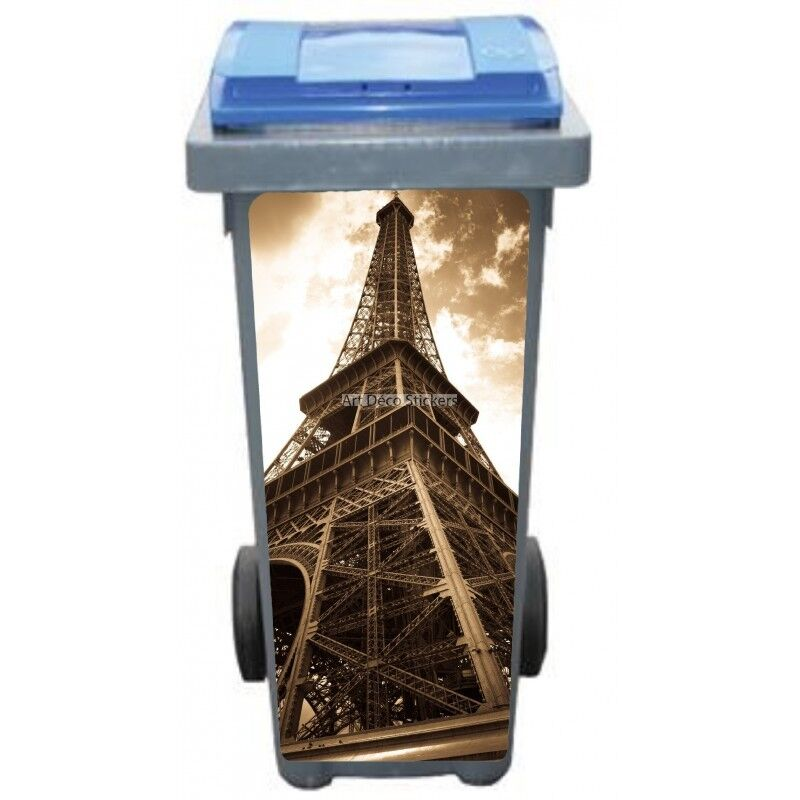 Adesivi Cassonetto Decocrazione Torre Eiffel Seppia 3208