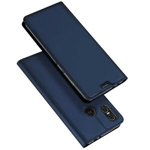 Motorola-One-Vision-Moto-Case-Cover-Premium-PU-Leather-Clear-Fitted-Phone-Holder