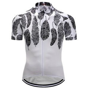 Man-Cycling-Jerseys-Riding-Shirt-Outdoor-Sports-Wear-White-Quick-Dry-Breathable