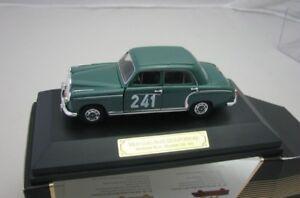 Faller-MODELCAR-plastico-1-43-Mercedes-Benz-220a-Ponton-W180-Rallye-Monte-Carlo