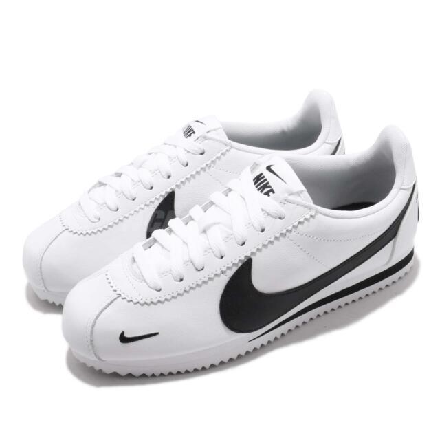 najlepsze trampki wiele modnych bardzo tanie Nike Classic Cortez Leather White Black Running Shoes Sz 11