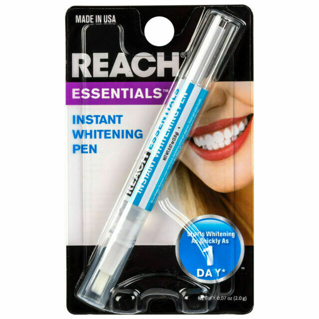2x Reach Essentials Professional Strength Instant Teeth Whitening