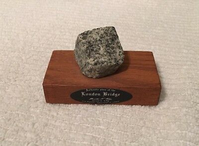 LONDON BRIDGE stone piece AZ historic Lake Havasu City relic Arizona