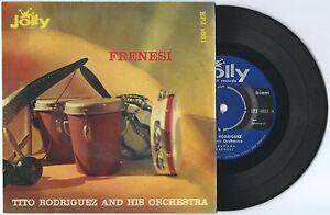EP-7-034-TITO-RODRIGUEZ-Frenesi-Jolly-58-ITALY-Latin-Cuban-salsa-mambo-unique-VG